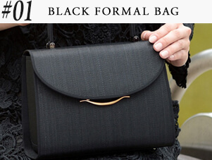 #BLACK FORMAL BAG
