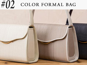 #COLOR FORMAL BAG